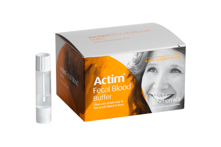 Actim fecal blood